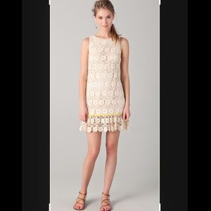 NWOT   Juicy Couture Daisy Guipure Lace Dress   10